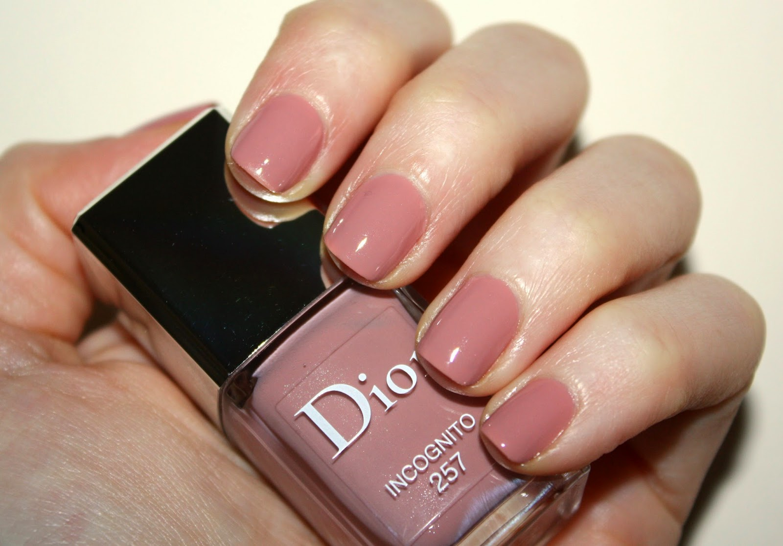 new Dior Gel nail polish in shade Incognito