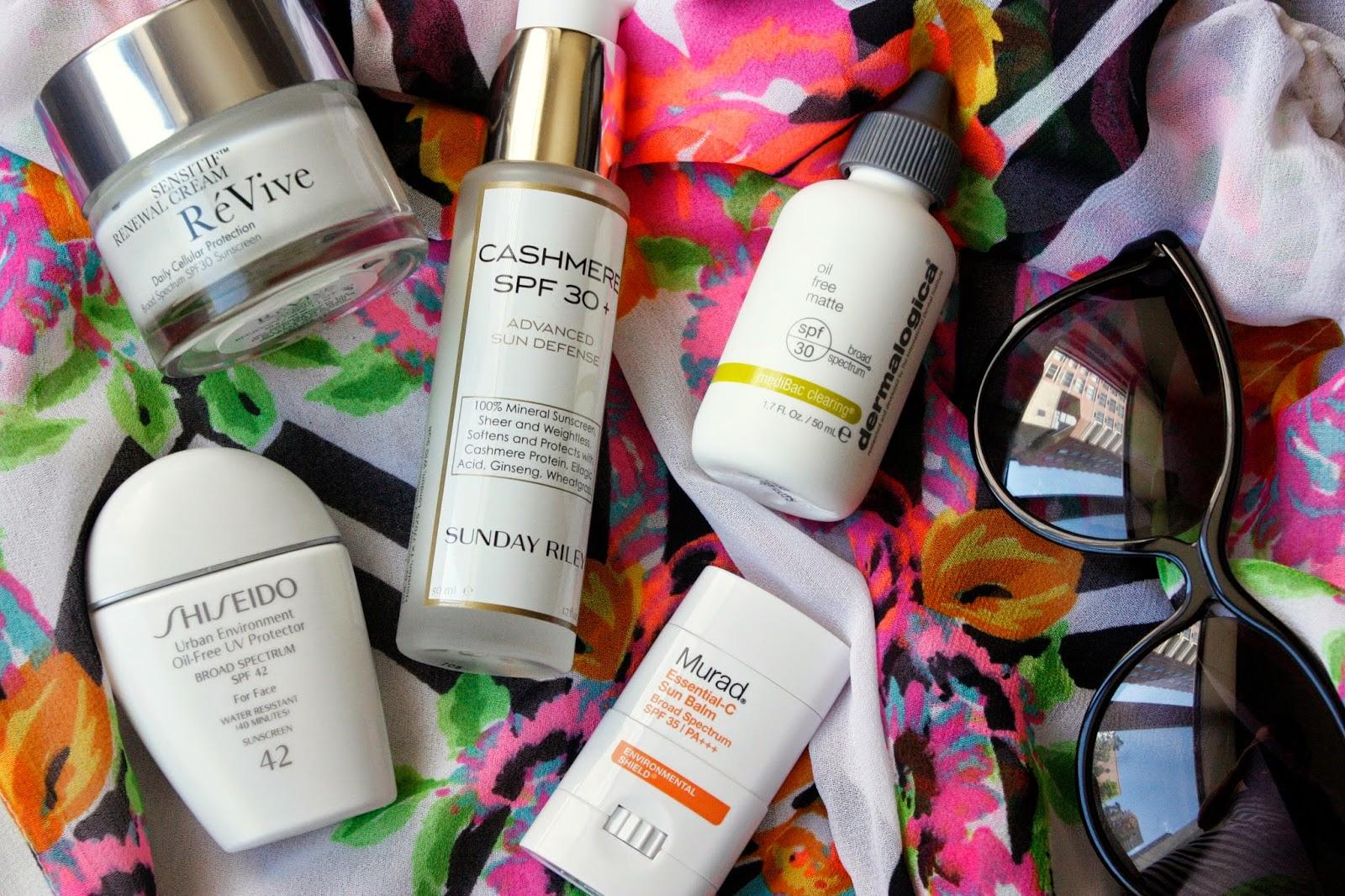 the best sunscreens to wear under makeup