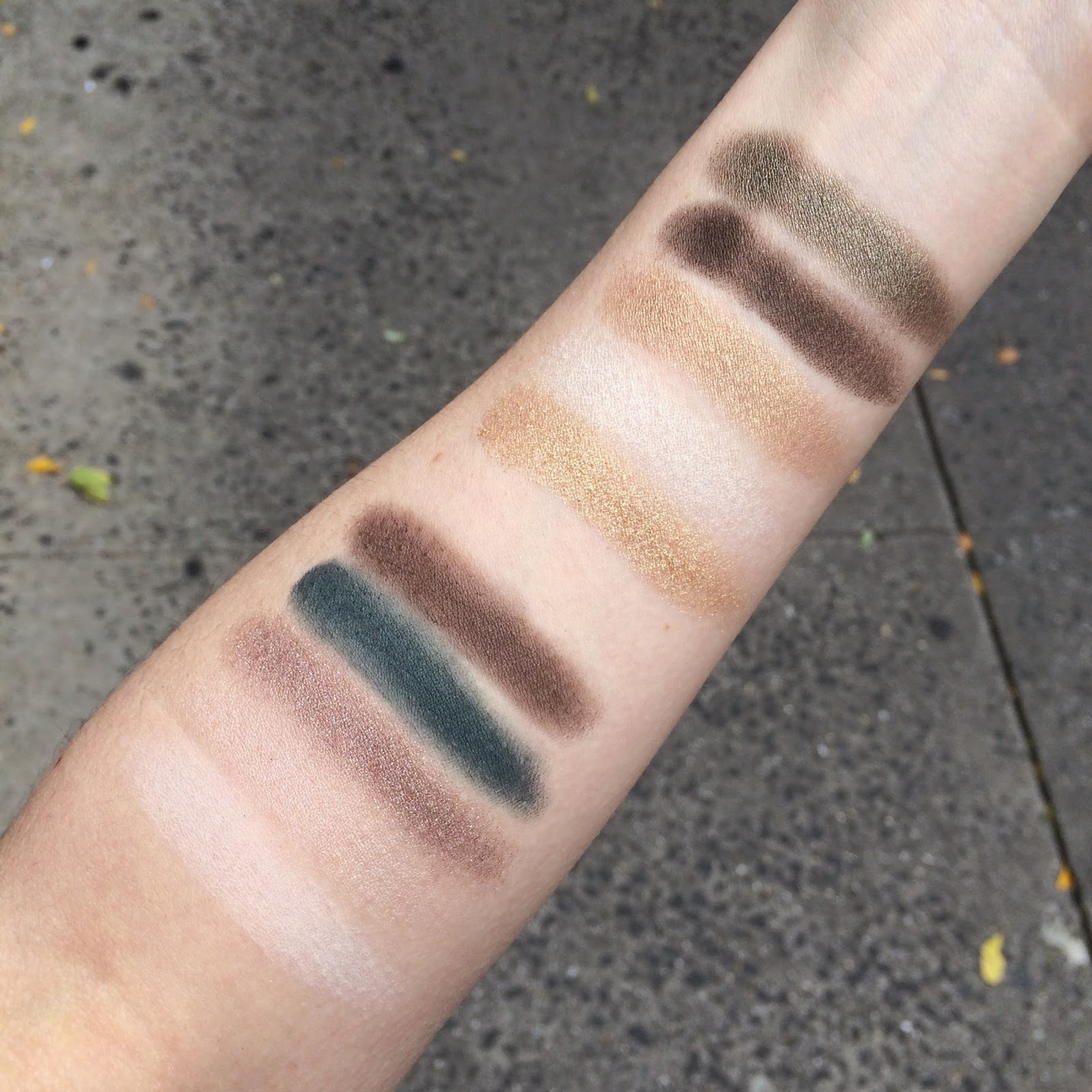 Estee Lauder Pure Color Envy Eye Shadow Palette swatches