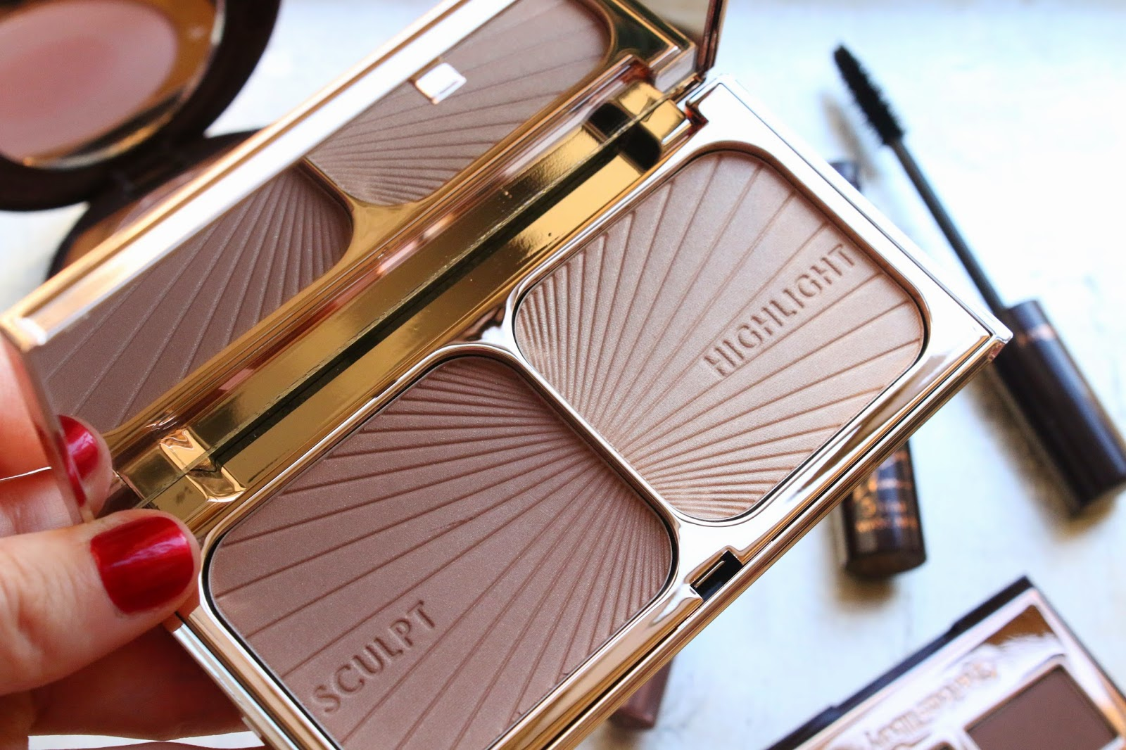 Charlotte Tilbury Bronze and Glow on fair skin
