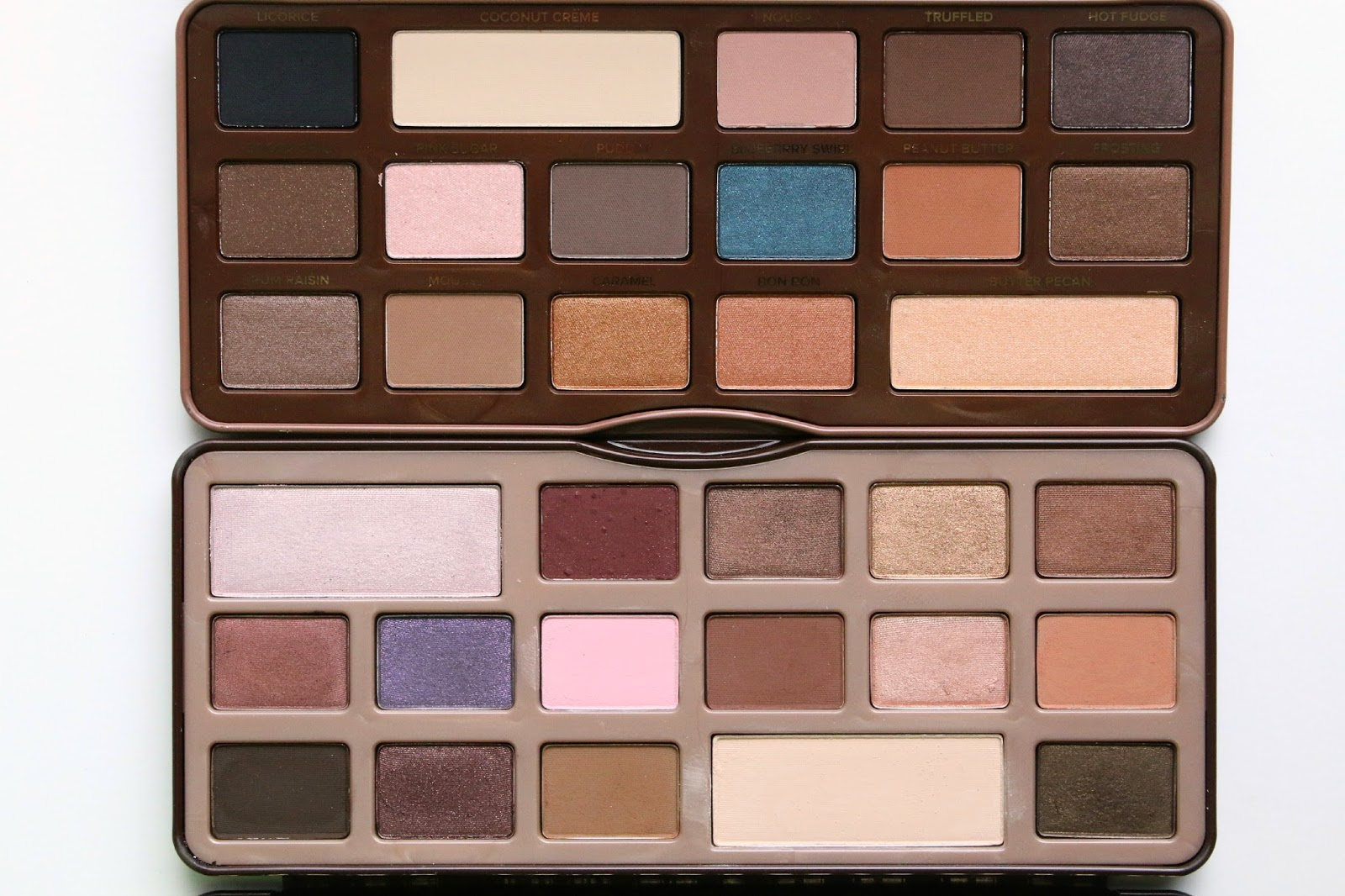 Review And Comparisons Too Faced Semi Sweet Chocolate Bar