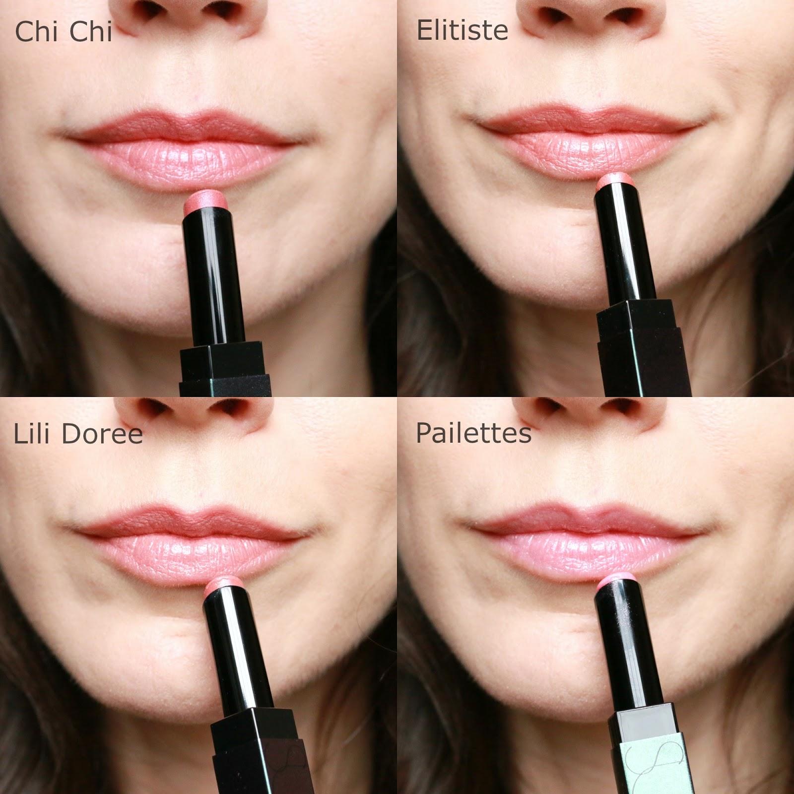 Surratt Beauty Prismatique Lips swatches
