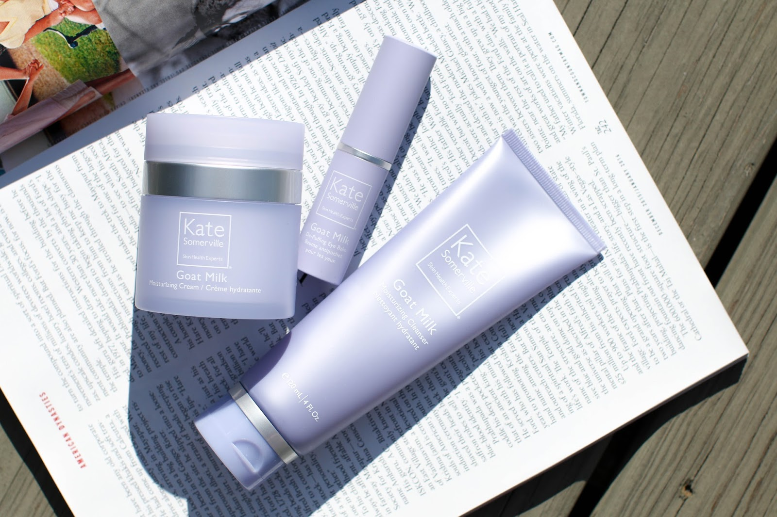 Review of the new Kate Somerville Goat Milk Collection.