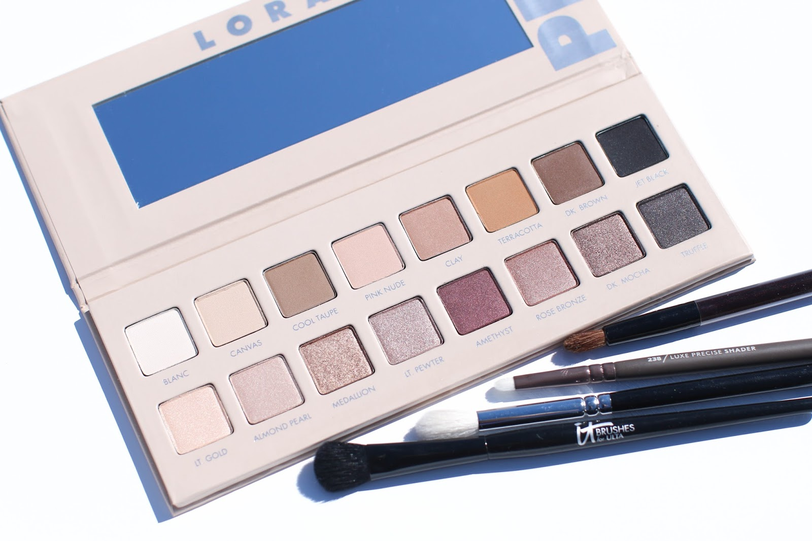 Review of the New Lorac Pro Palette 3 with Swatches