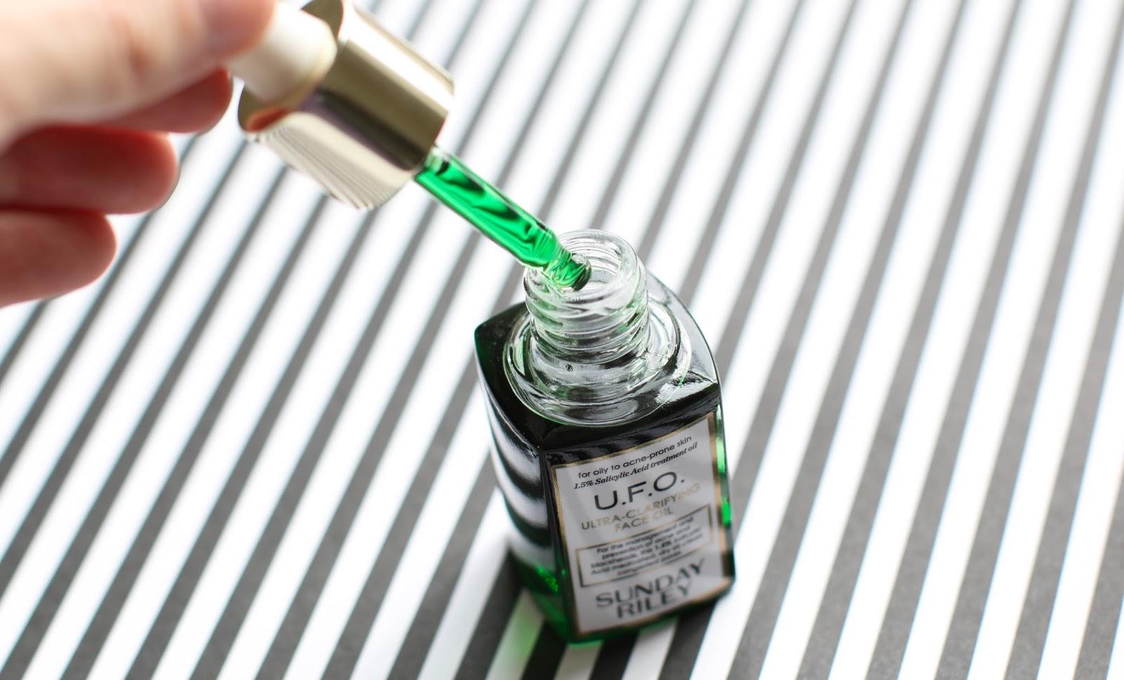 Sunday Riley U.F.O. Clarifying Oil review