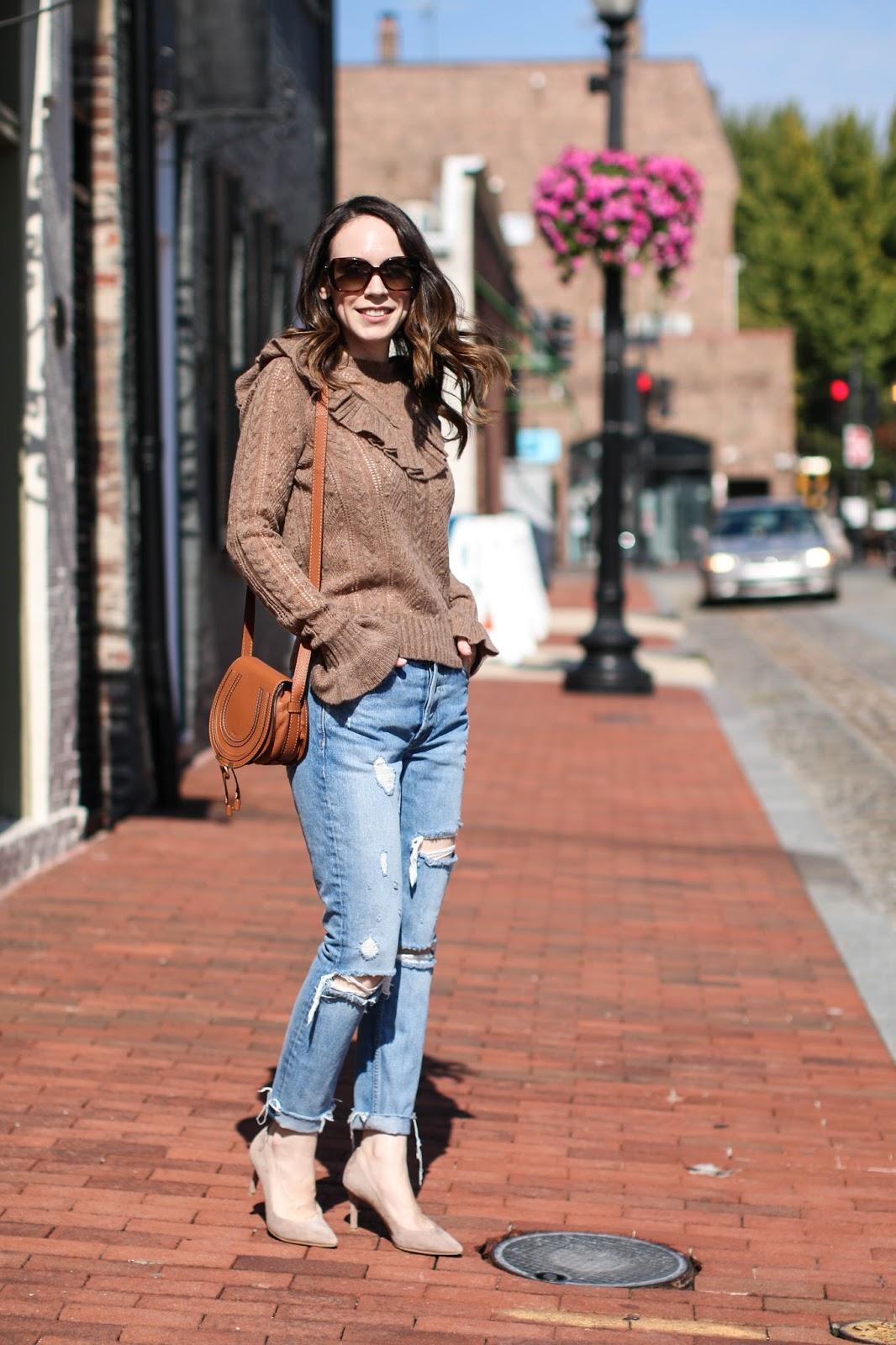 girlfriend jeans