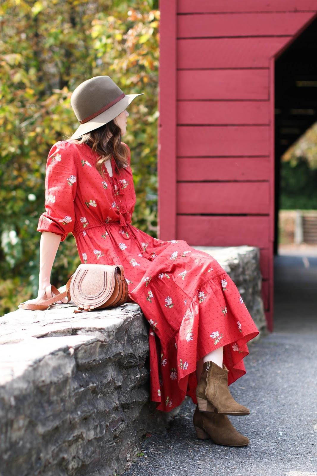 Maxi dresses for fall.