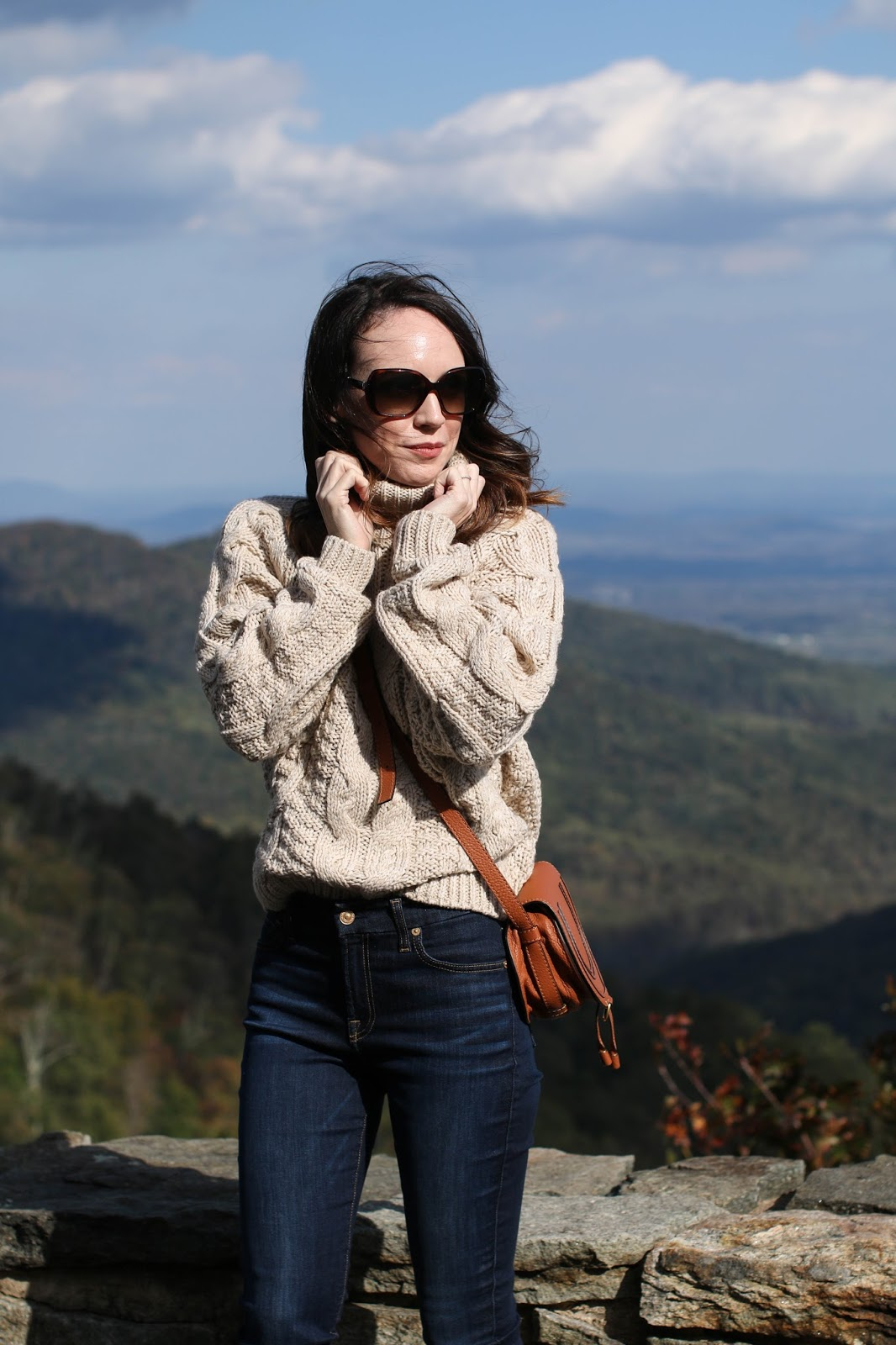 fall style on skyline drive