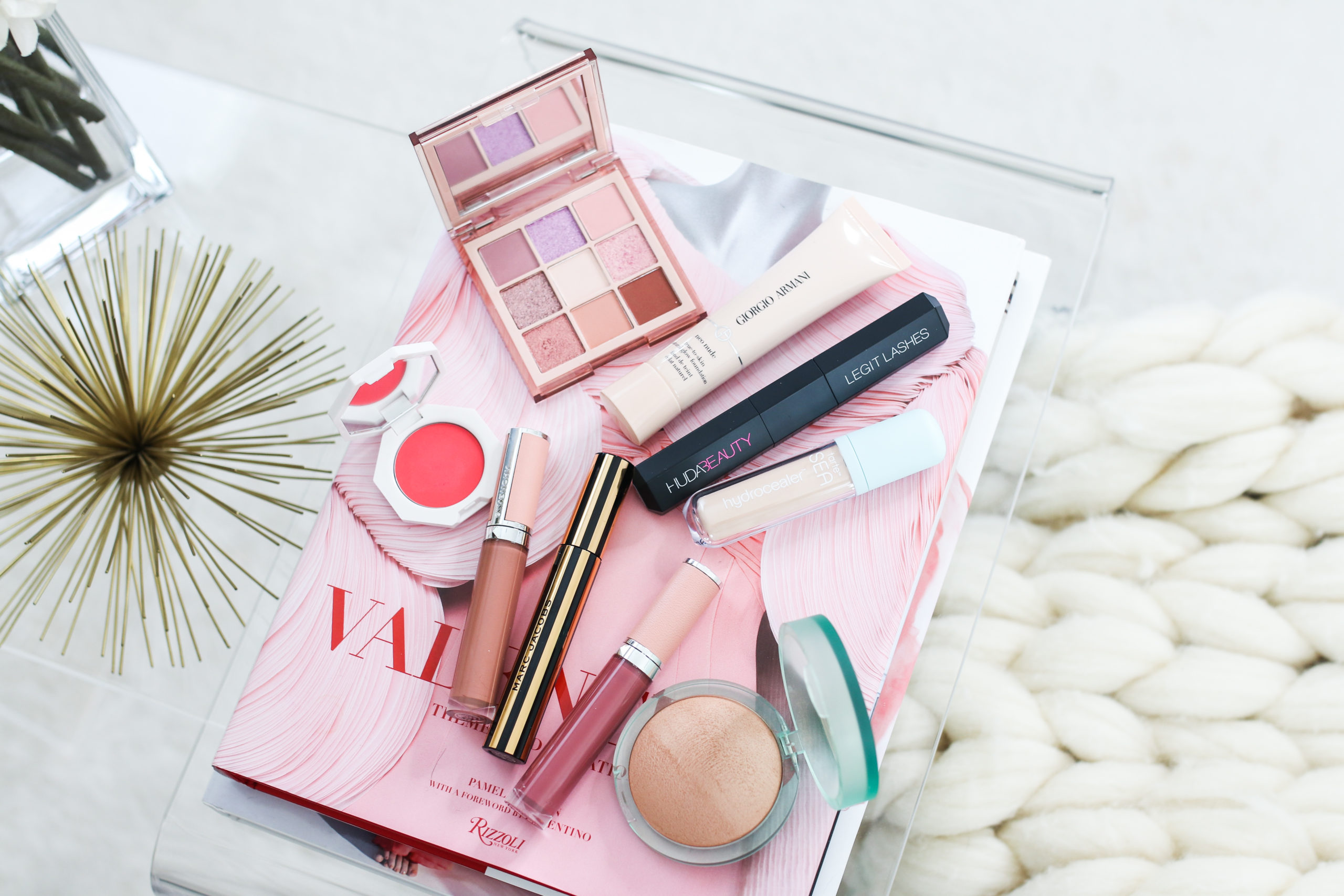 Testing Out New Makeup Armani Kosas Givenchy Huda Beauty And More Alittlebitetc